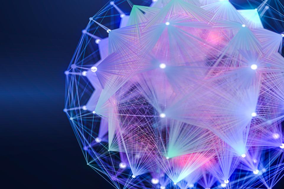Technology Abstract Background futuristic design,global communications Connection with the optical fiber.
