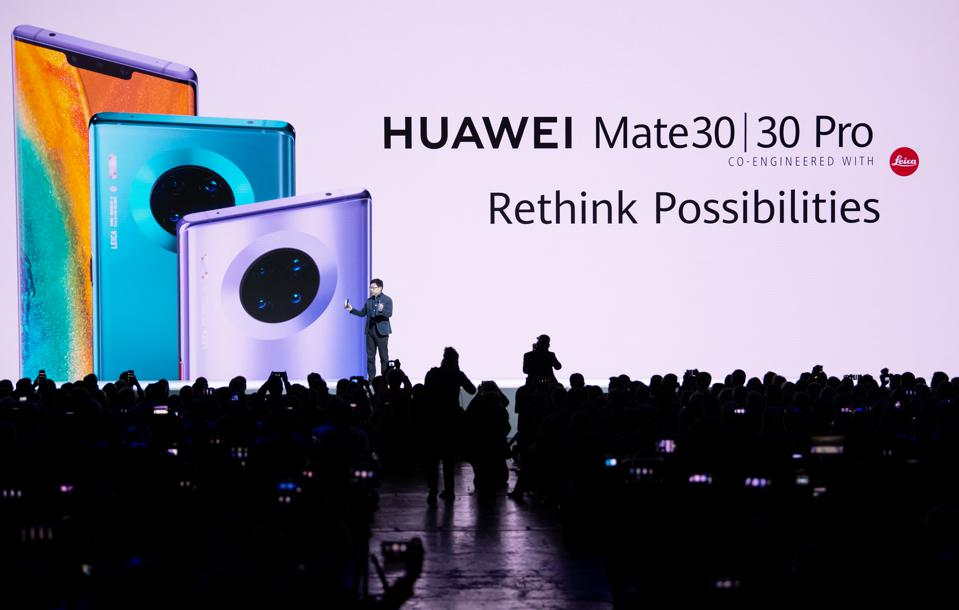 Press conference Huawei
