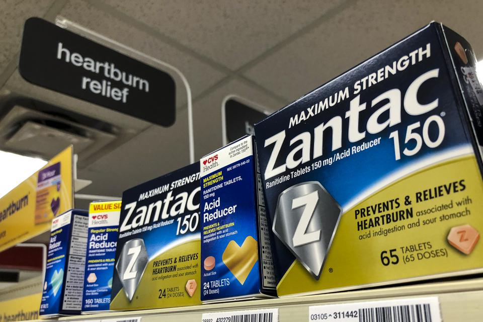 Shipments Of A Generic Zantac Halted After FDA Warns Of Low Level Probable Carcinogen In Zantac And Its Generic Version
