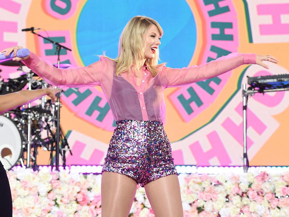 Taylor Swift Performs On ABC's ″Good Morning America″