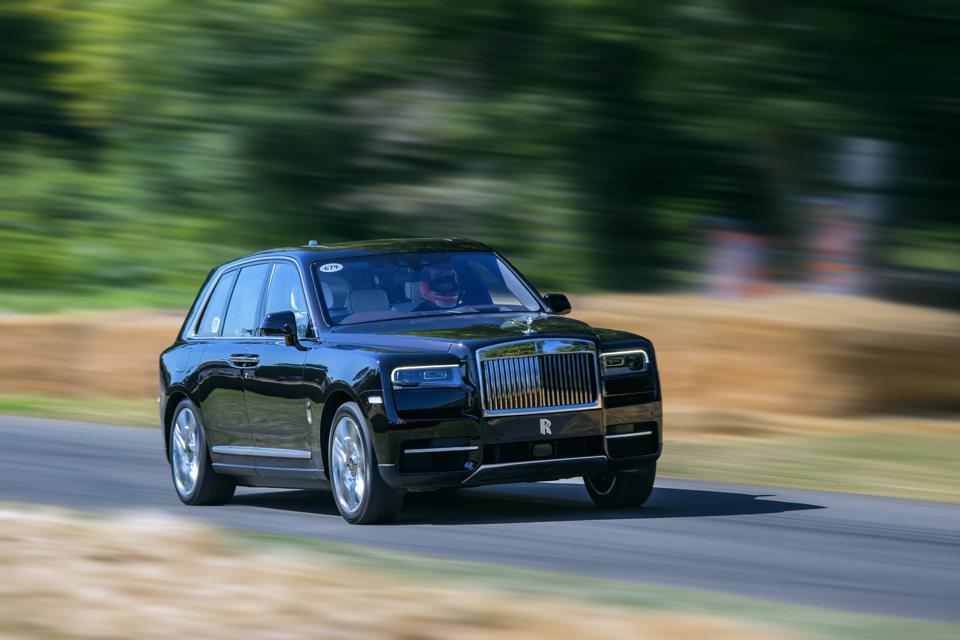 The Rolls-Royce Cullinan isn't pretty, but it wasn't Kaban's fault.