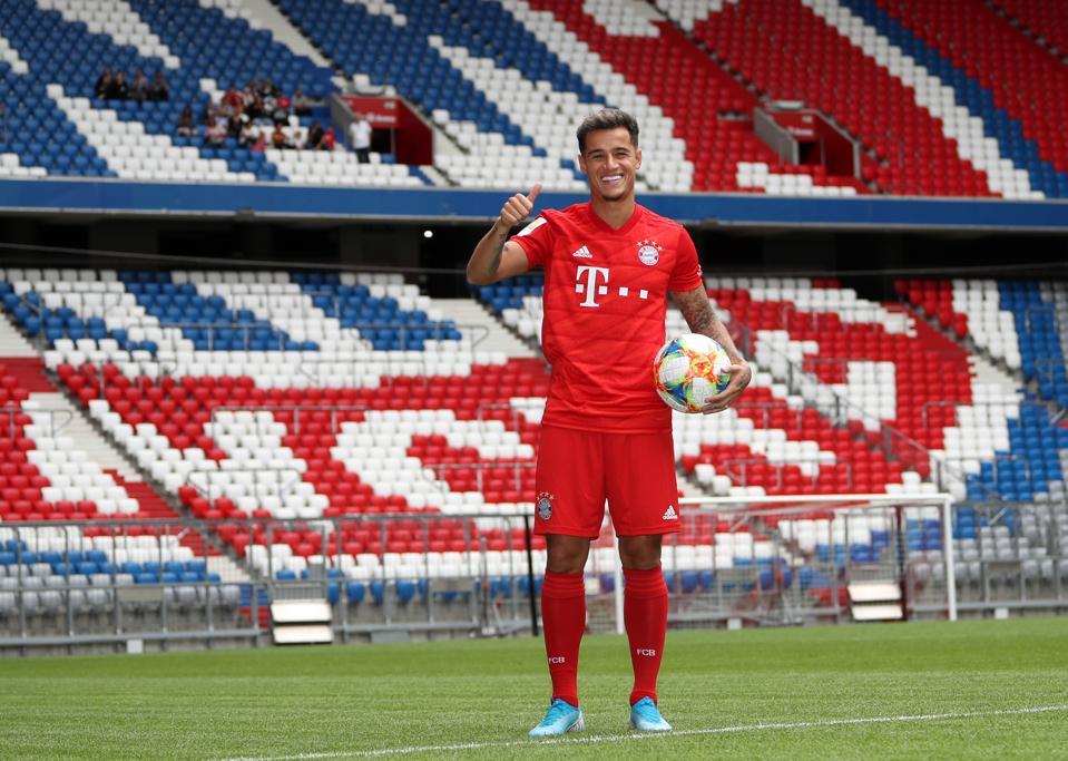 FC Bayern Munich Presentation Philippe Coutinho