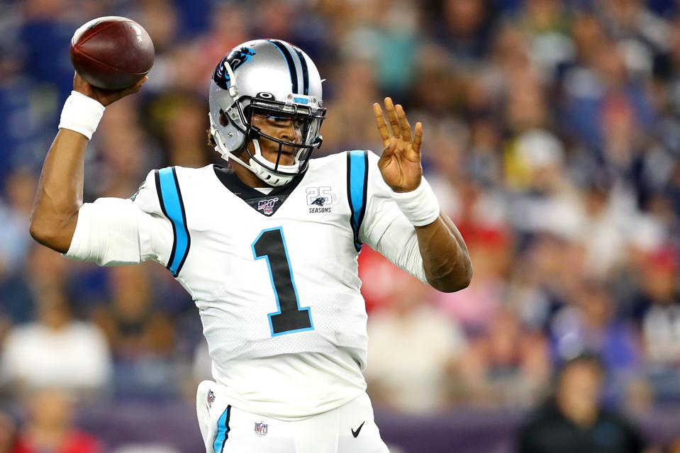 Cam Newton To New England Patriots: Updated 2020 NFL MVP Odds ...