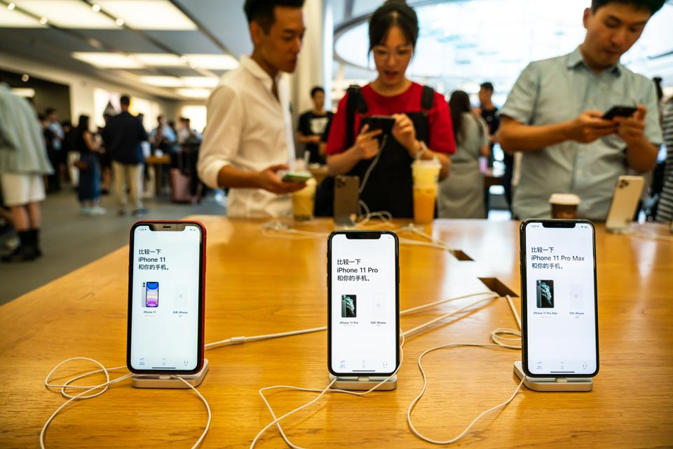 Apple's new iPhone 11, iPhone 11 Pro and iPhone 11 Pro Max...