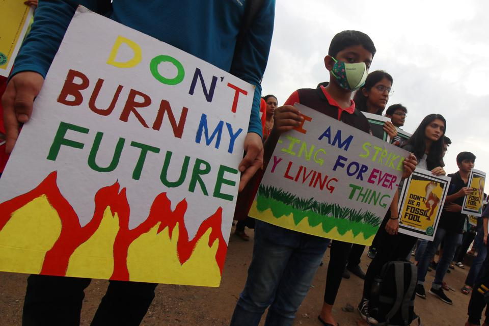 Global Climate Strike In Mumbai