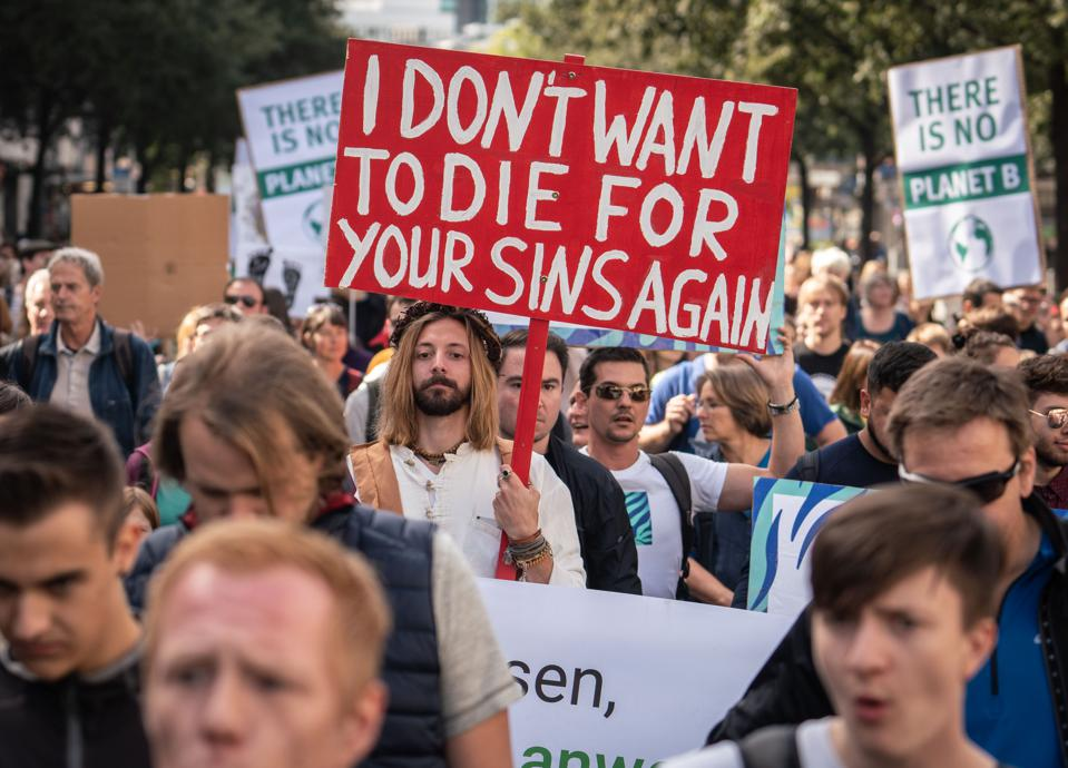 Global climate strike - Frankfurt