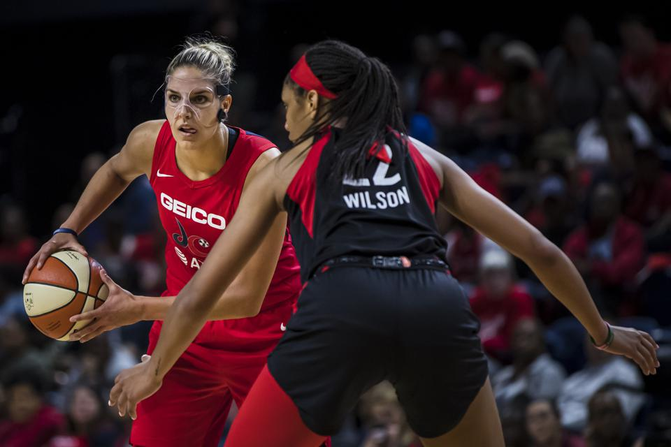 Las Vegas Aces v Washington Mystics - Game Two