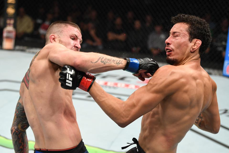 UFC Fight Night 159 Results: Steven Peterson's Spinning Backfist KO (VIDEO) Is Worth $50K Bonus