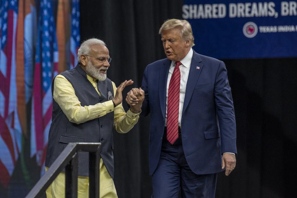 As Trump Meets India's Modi, A New Complication Emerges: Bill Gates And An Award