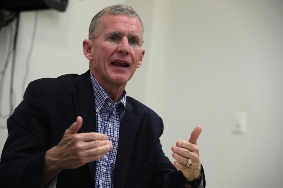 Retired Gen. Stanley McChrystal In Virginia