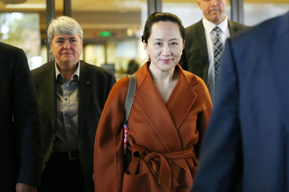 Huawei CFO Meng Wanzhou Appears In Canadian Court For Extradition Hearing