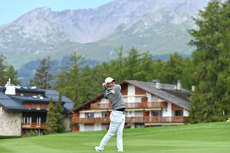 European Tour Hits Heights In Crans And Hopes To Stay There