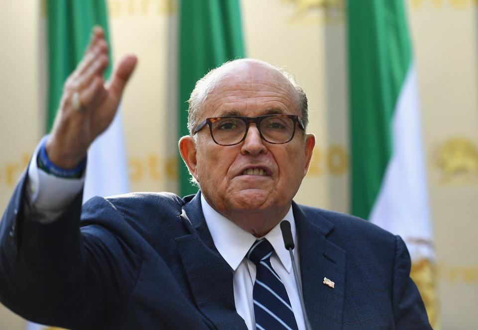 Rudy Giuliani Is Reportedly Looking For A Defense Attorney