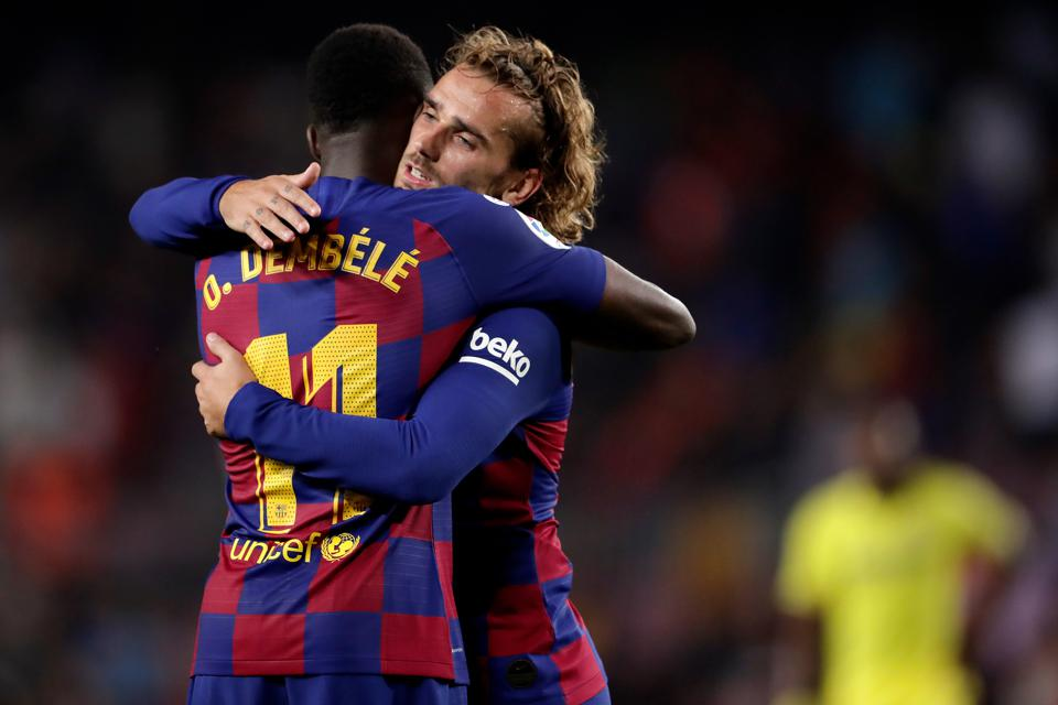 Griezmann Or Dembélé: Which Attack Will Barcelona Go With After International Break?