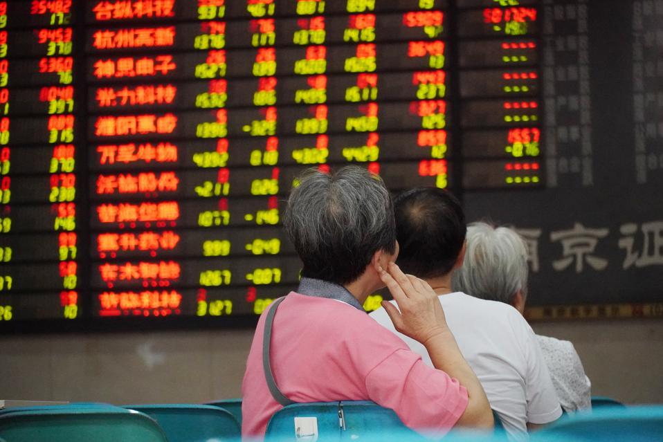 China Stocks Drop On Thursday