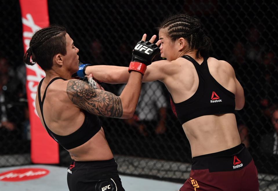 UFC Fight Night: Andrade v Zhang
