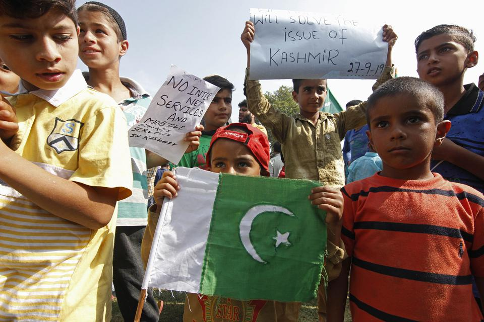 Anti-India Protest In Kashmir