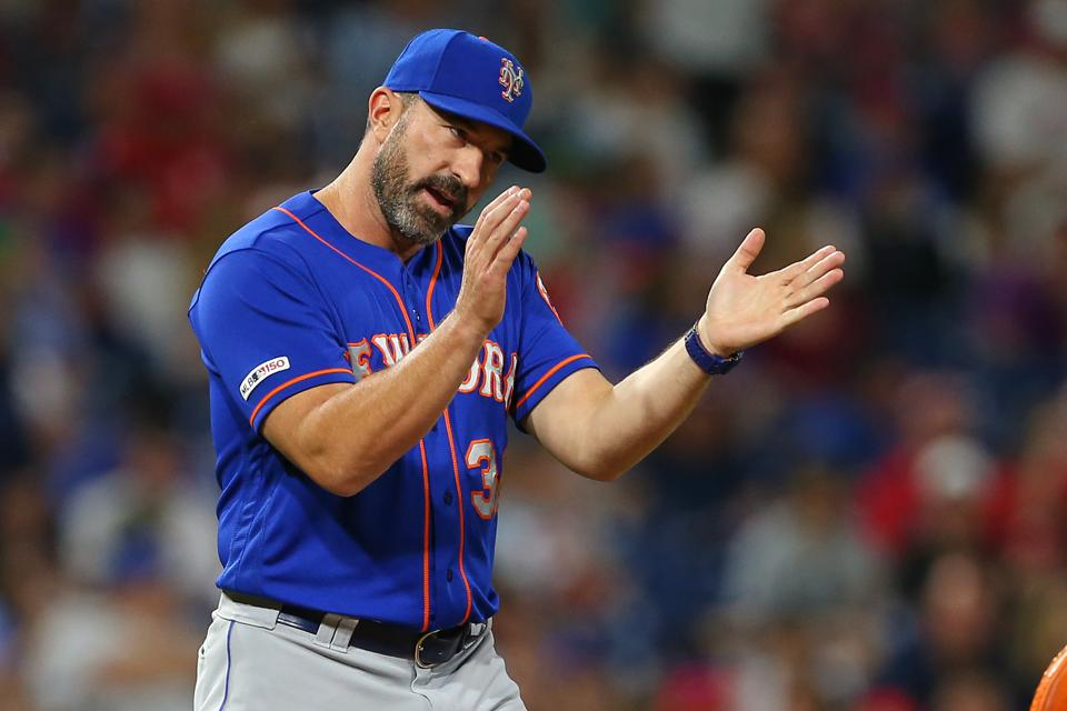 New York Mets Manager Mickey Callaway Finally Manages A Game By His Book