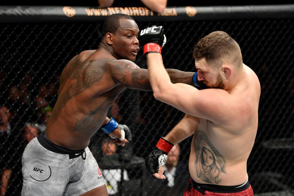 UFC Fight Night: Oleksiejczuk v Saint Preux