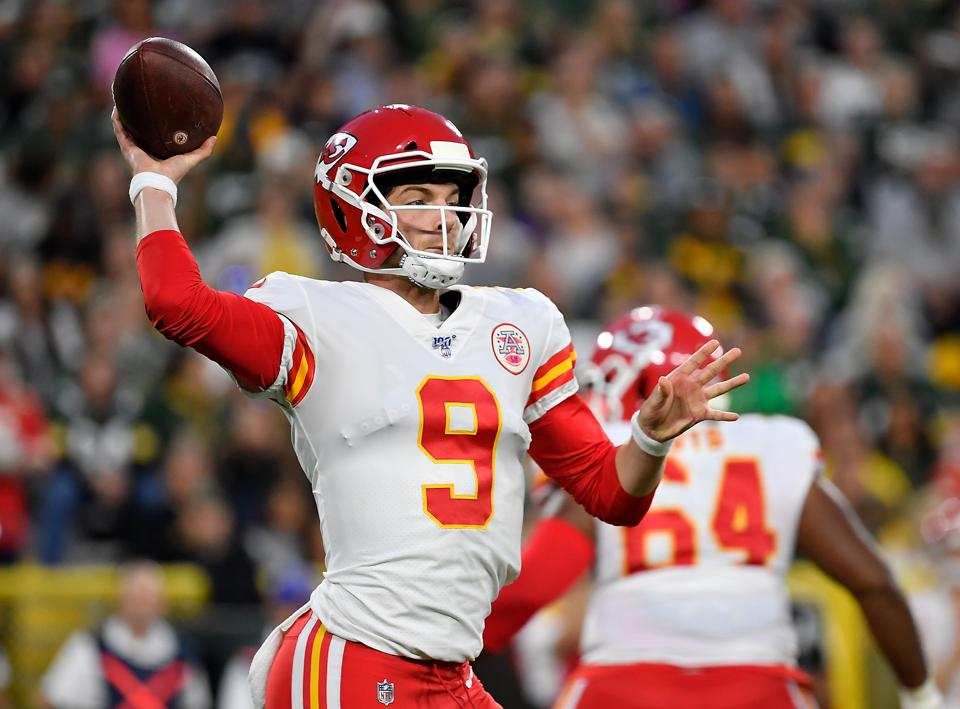 The Son Of The New York Giants Head Coach Is The Chiefs