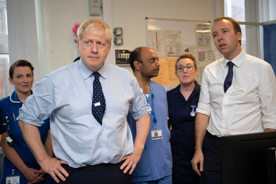 U.K. Prime Minister And Health Secretary Diagnosed With Coronavirus