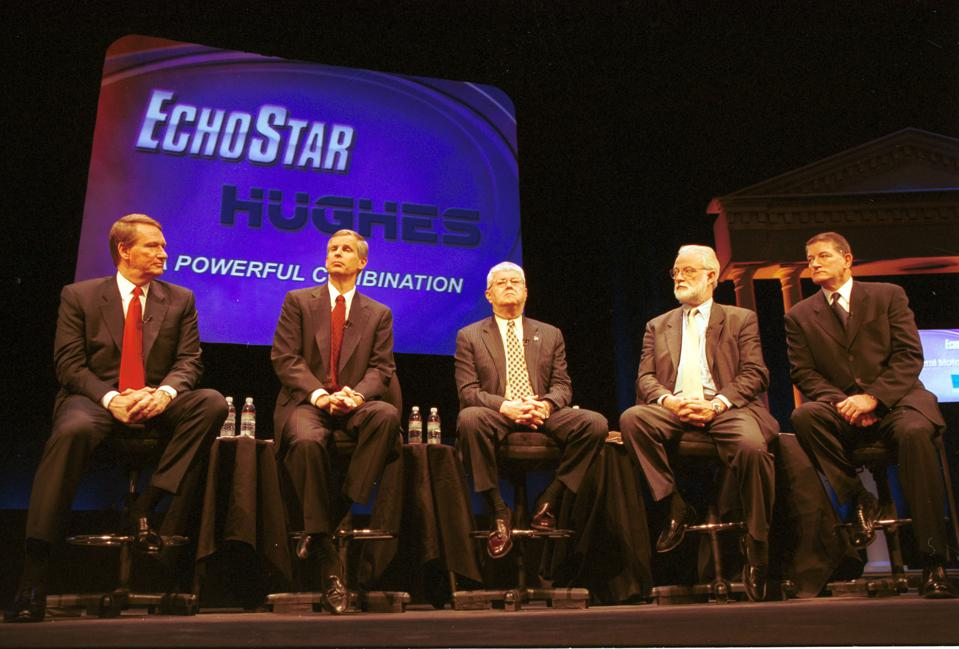 EchoStar Communications Buys Hughes Electronics
