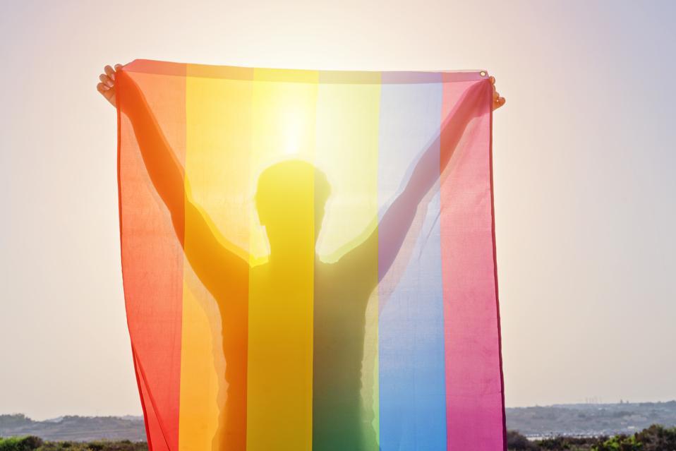 Spiritual Pride Rainbow Woman