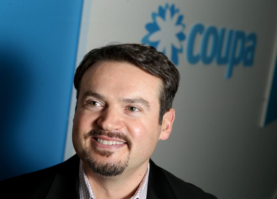 Coupa CEO Rob Bernshteyn poses for a photograph at their headquarters in San Mateo, Calif., on Friday, Aug. 18, 2017. The software company provides a cloud based management platform for business spending. (Anda Chu/Bay Area News Group)