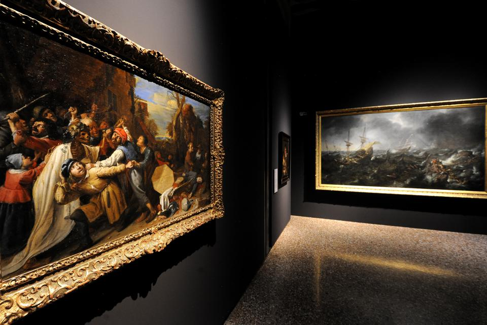 'From Titian To Rubens' Exhibition - Press Preview