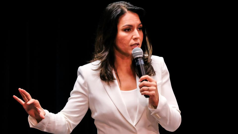 Tulsi Gabbard Endorses Legalizing Drugs
