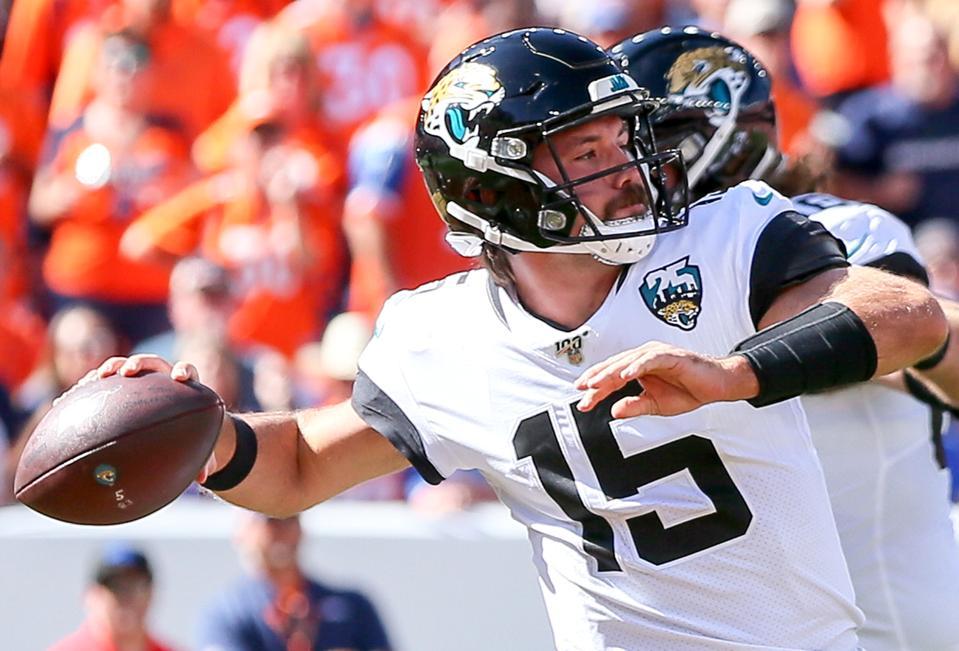 NFL: SEP 29 Jaguars at Broncos