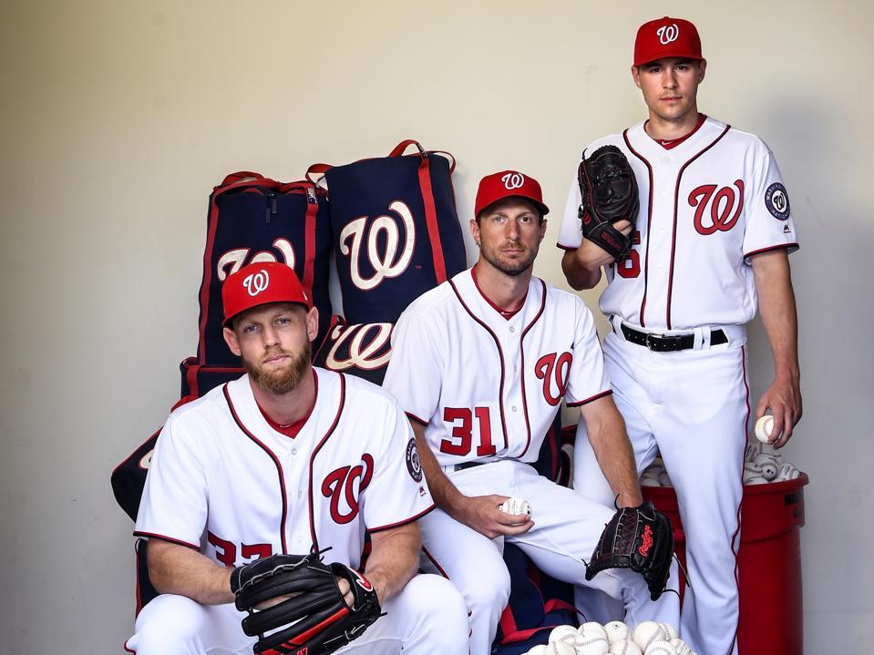 MLB Washington Nationals Starting Pitchers