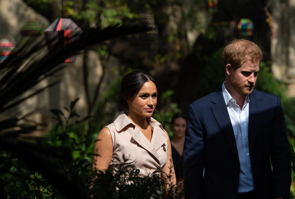 Meghan Markle and Prince Harry in September.
