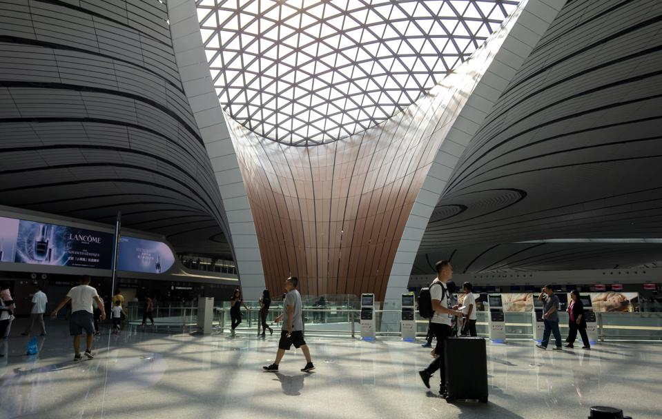Beijing Daxing International Airport, officially began to...
