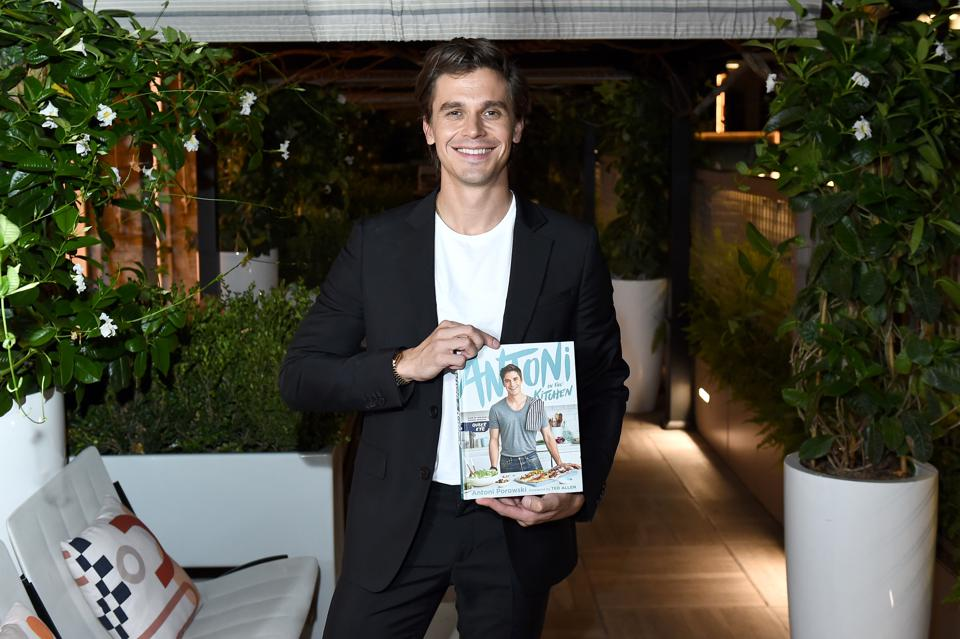 Antoni Porowski Celebrates The Launch Of Antoni In The Kitchen At Le Chalet At L'Avenue At Saks
