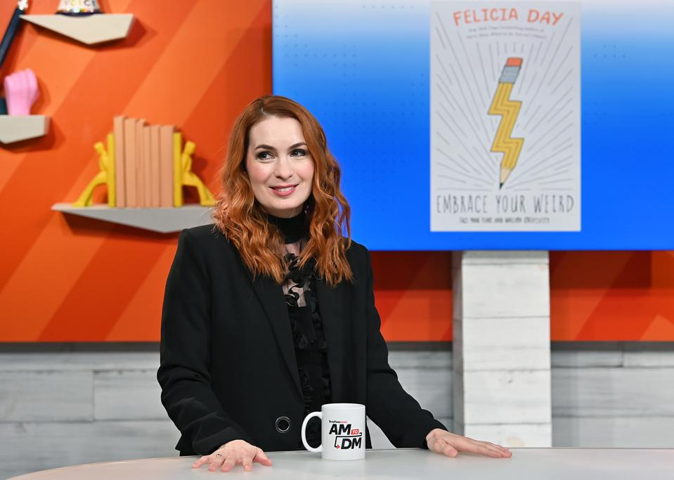 image shows felicia day Visit BuzzFeed's ″AM To DM″ - October 3, 2019