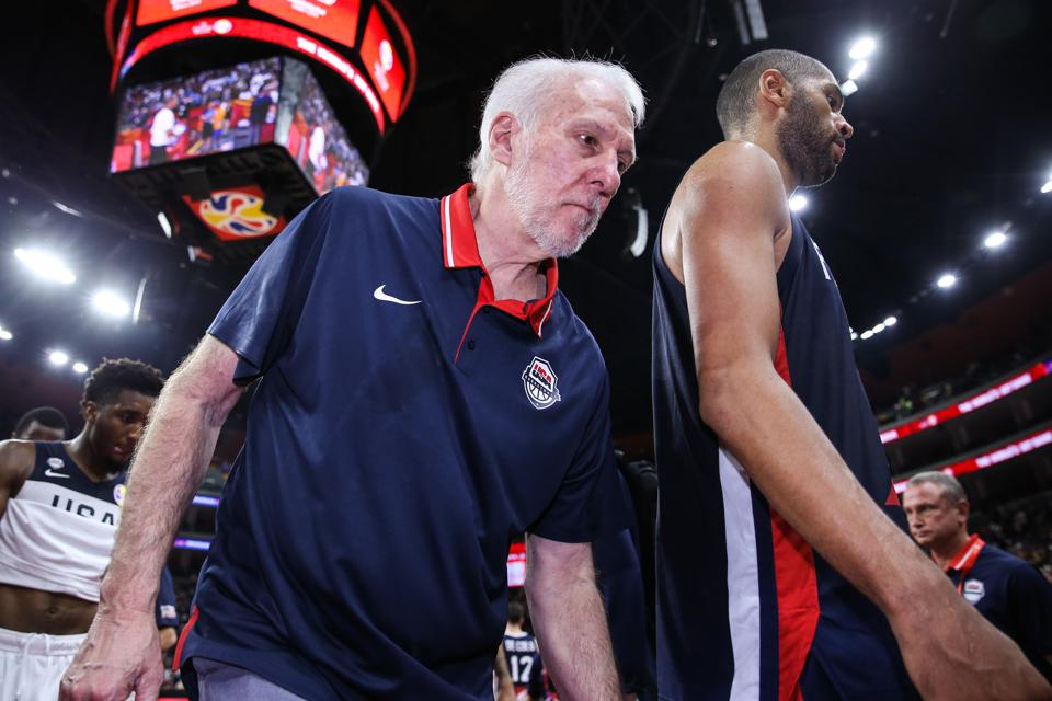 Popovich Pushes Back On Criticism, But Team USA Faces Questions After Disappointing World Cup Finish