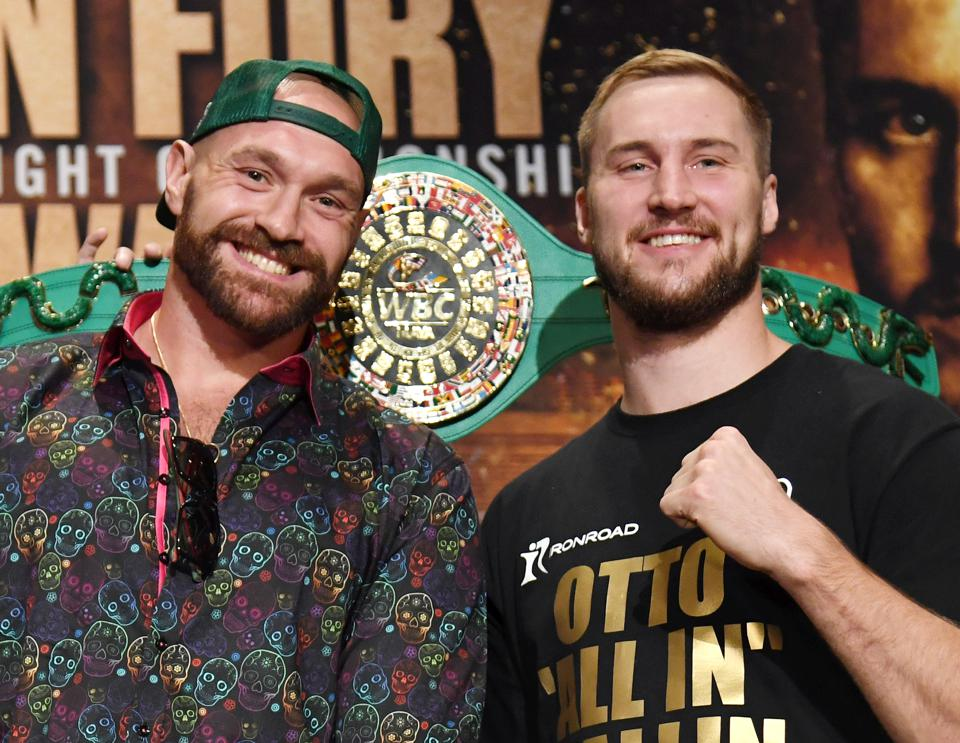 Tyson Fury vs. Otto Wallin: Fight Odds, Undercard, Predictions and How to Watch