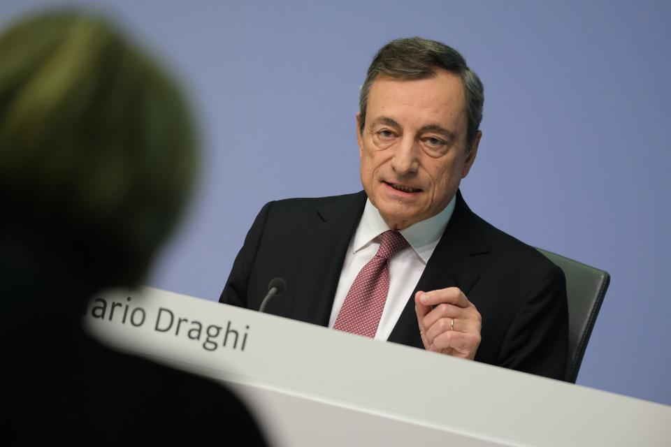 The European Central Bank Pressures EU Countries To Stimulate The European Economy