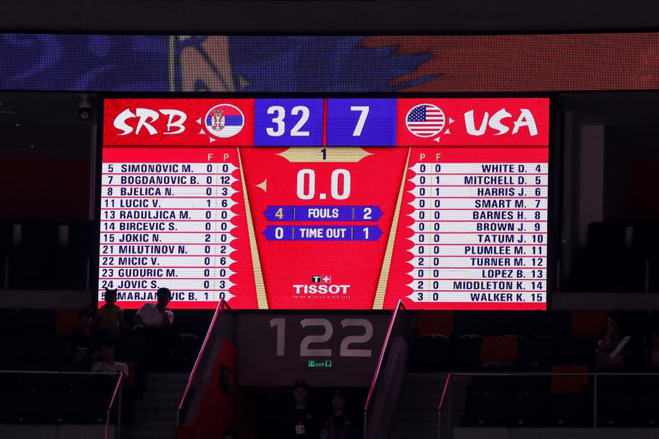 Team USA Loses Again, This Time to Serbia