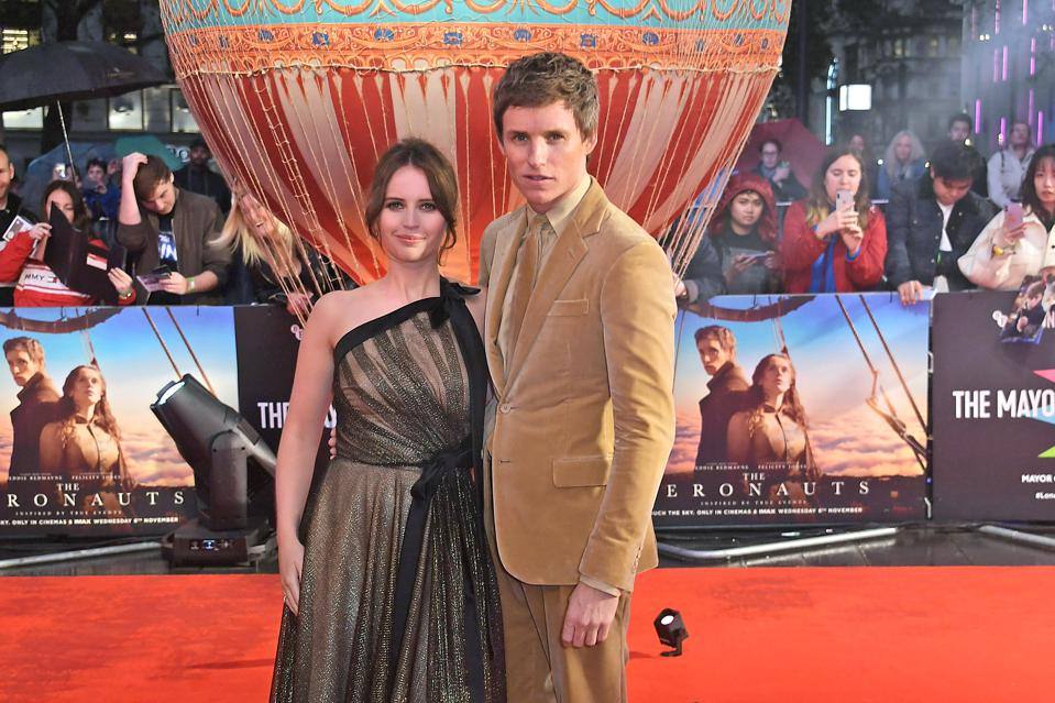 'The Aeronauts' Starring Felicity Jones And Eddie Redmayne, A Review