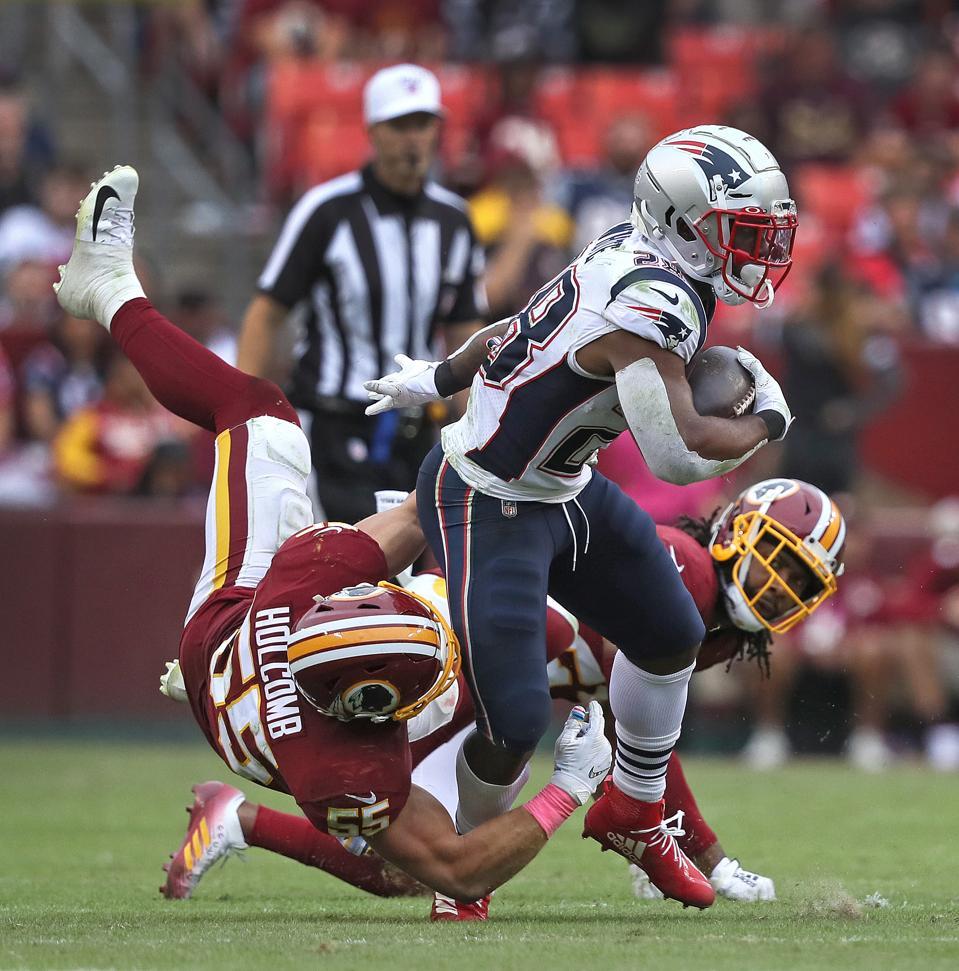 New England Patriots Vs Washington Redskins At FedEx Field