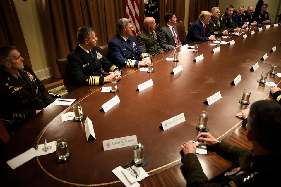 Senior U.S. Military Leaders: It's Time To Step Up And Protect The Institutions That You Lead