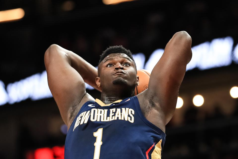 Zion Williamson Is Already Creating as Much Buzz as Steph Curry and LeBron