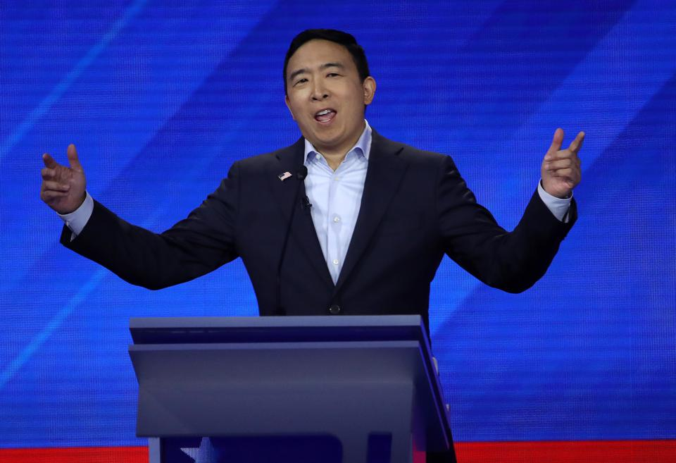 How Andrew Yang Would Tackle The Cost Of College