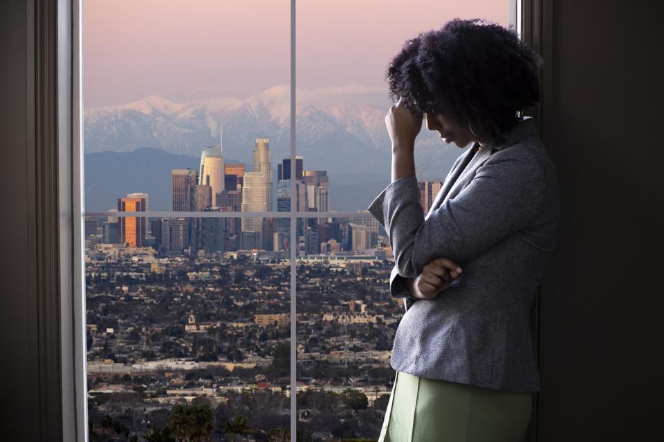 Burned-out worker in LA