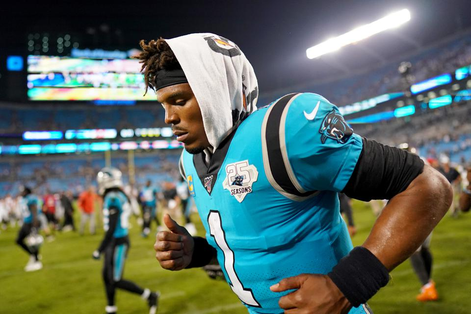 buy popular ba883 2d19e For Winless Panthers, Sticking With Cam Newton Is The Right ...