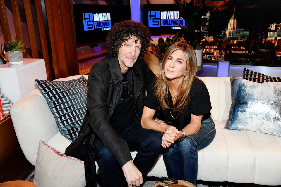 Howard Stern Broadcasts Live From The SiriusXM Hollywood Studios