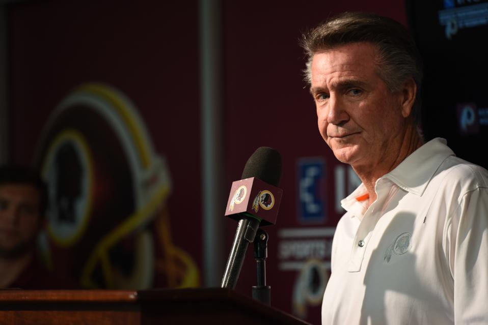 Redskins announce Bill Callahan as new interim Head Coach after firing Jay Gruden