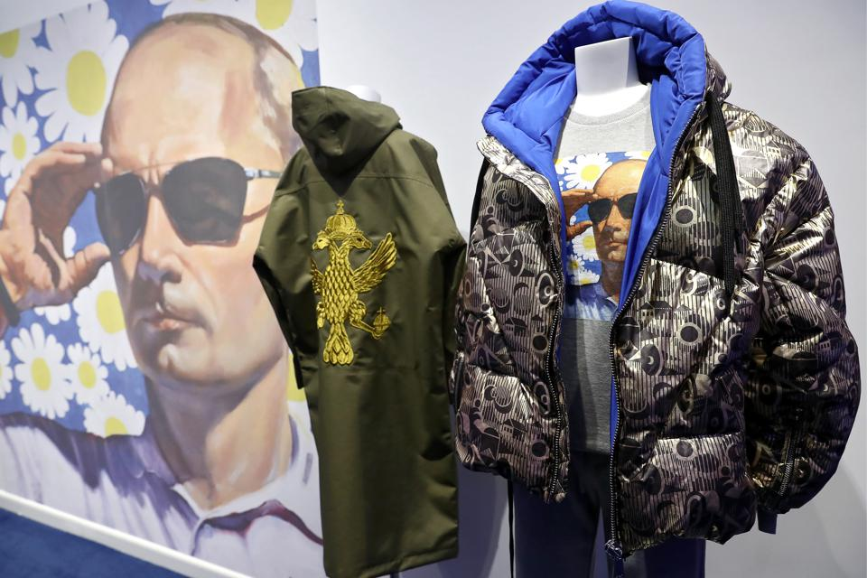 Aizel x Team Putin store opens in Moscow